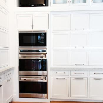 Pantry With Double Ovens Design Ideas