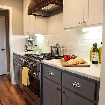 mismatched kitchen cabinets my