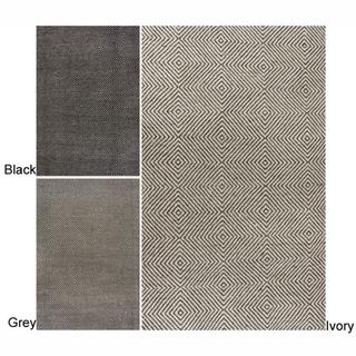 nuLOOM Handmade Trellis Wool / Cotton Rug, Overstock.com