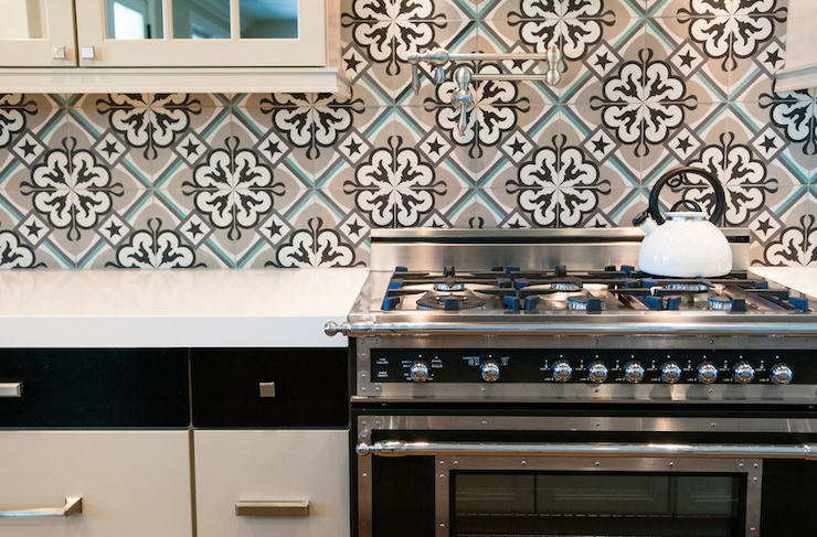 Moroccan Backsplash Mediterranean Kitchen Brittney