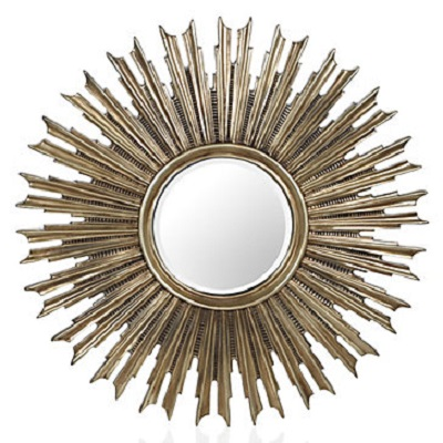 Large gold sunburst mirror look 4 less and steals and deals for Decorative mirrors for less