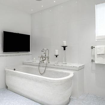 Bathtub With Built In Shelf Design Ideas