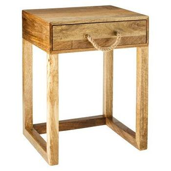 Threshold Nautical Accent Table With Rope Handle I Target