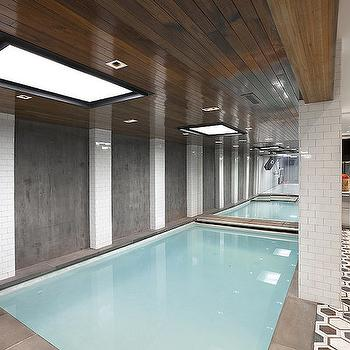 Indoor Pools, Contemporary, pool, Morris and Woodhouse