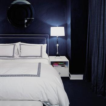 Greek Key Duvet, Contemporary, bedroom, Morris and Woodhouse