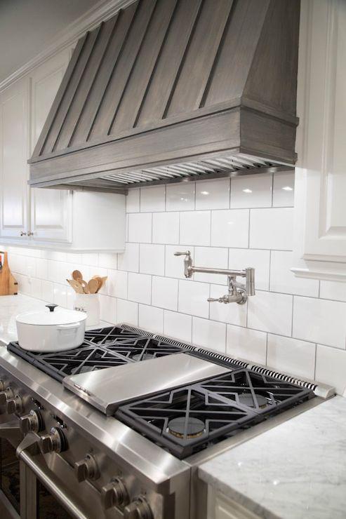 Stained Kitchen Hood - Transitional - kitchen - HGTV