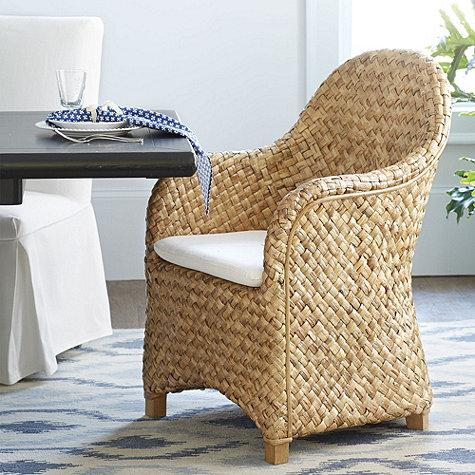 Woven Natural Dining Chair