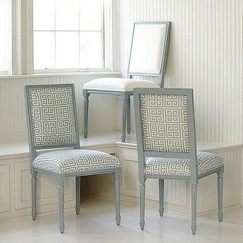Square Louis Side Chair COM Lacquer, Ballard Designs
