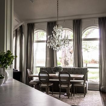Arched Windows, French, dining room, Paloma Contreras