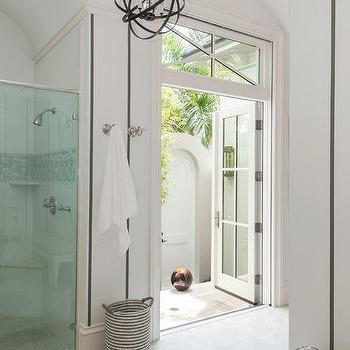 French Doors Bathroom, Transitional, bathroom