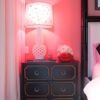 Black Bamboo Bed, Contemporary, bedroom, Sasha Bikoff