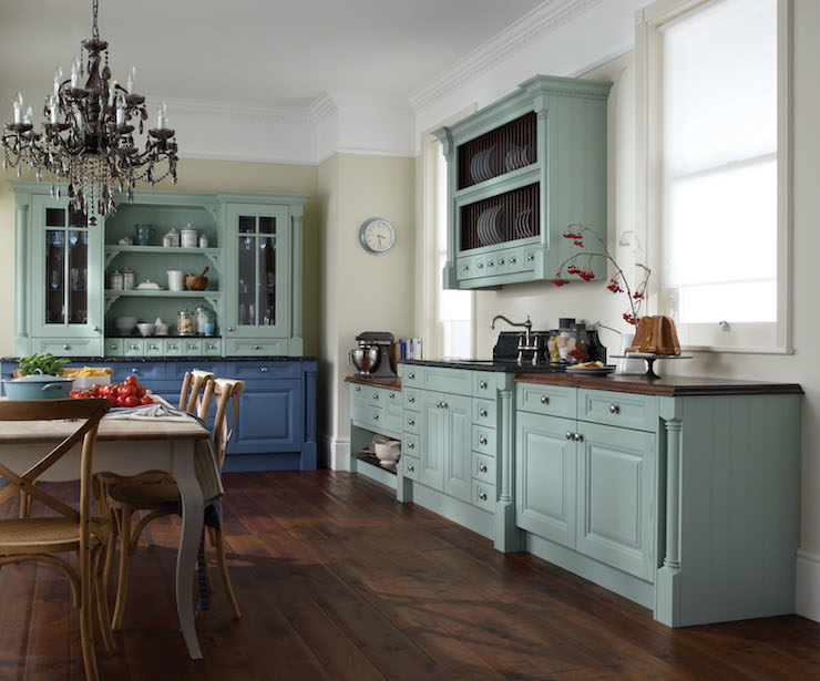 gray french hutch and cabinet design ideas