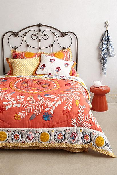 bedclothes mandala peace quilt a beddingoutlet vintage bohemian orange bed design set products bedding van car cover mini hippie