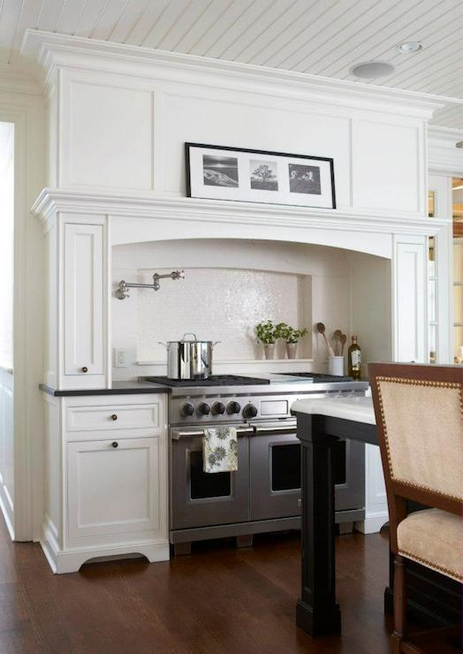 Stove Nook Transitional Kitchen Daniel Contelmo