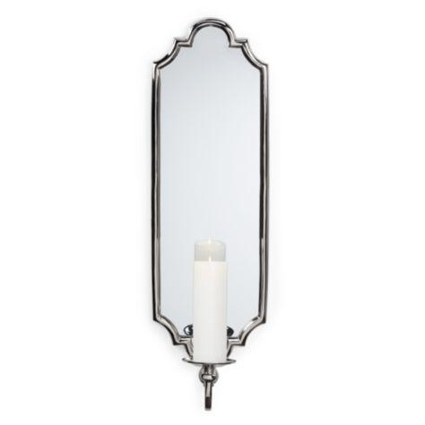 Silver Wall Sconces For Candles : Silver Branch Candle Sconce