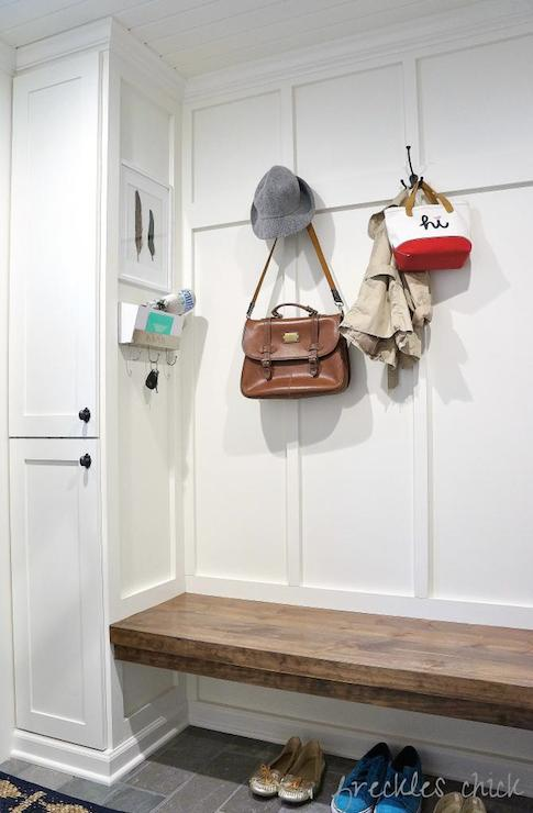 Mudroom Board And Batten Transitional Laundry Room