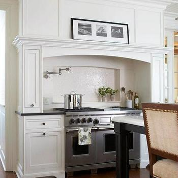 kitchen stove alcove design ideas mediterranean interior design style small design ideas