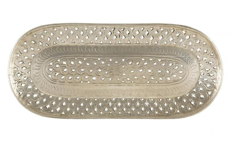 Hammered Tray Stand West Elm