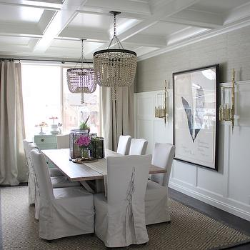 Dining Room Board and Batten, Transitional, dining room, Alice Lane Home