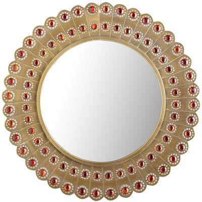 Avidan Leaner Rustic Bronze Mirror