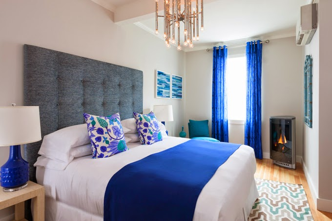 Cobalt Blue Bedding