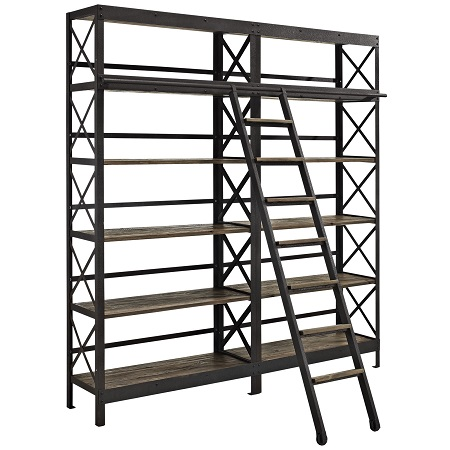 view full size - Industrial Bookcase - Look 4 Less And Steals And Deals.