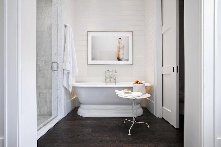 Pocket Door Water Closet Transitional Bathroom Jessica Glynn