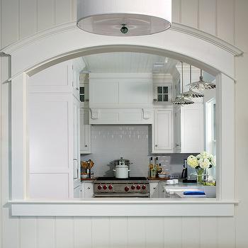 Leaded glass kitchen pass through design ideas for Kitchen pass through