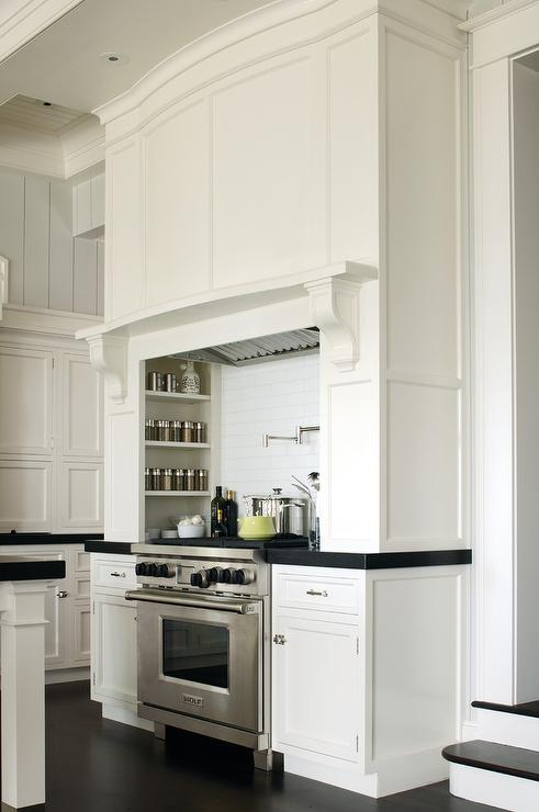 Cooking Alcove Transitional Kitchen Twin Companies