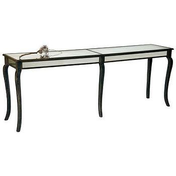 Extra Long Console Table, Mirror Sides I Bliss Home and Design