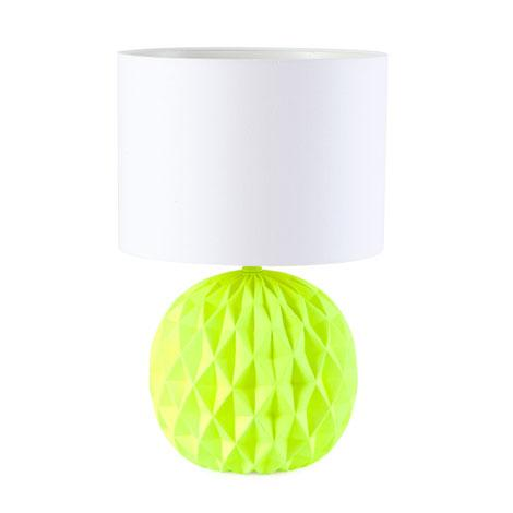 Linework Yellow Table Lamp