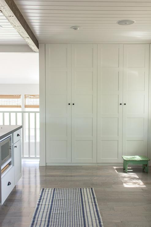 Ikea Pax Cabinets Transitional Kitchen Valspar