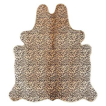 Leopard print eco upholstered chair i vivaterra - Alfombras animal print ...