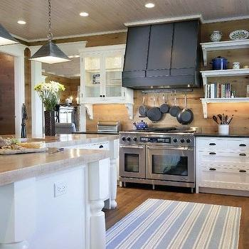 Oversized Kitchen Island Transitional Kitchen