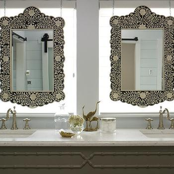 Beautiful Mother Of Pearl Mirrors