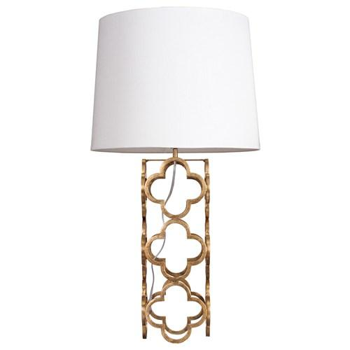 Worlds Away Darcy Gold Leaf Table Lamp