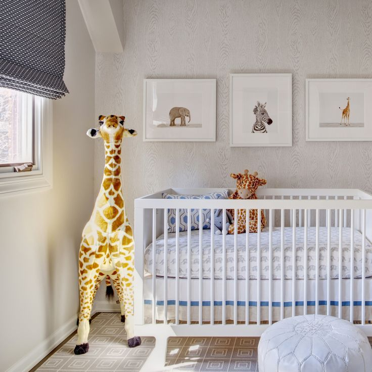 Faux Bois Wallpaper Contemporary Nursery Studio Gild