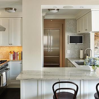 Transitional, Kitchen, Pratt and Lambert Pebble