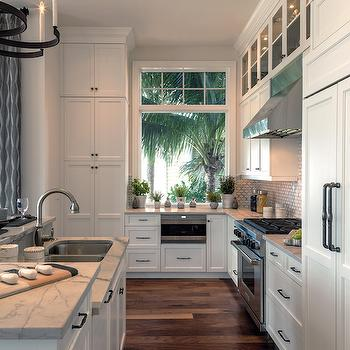 White Shaker Cabinets, Contemporary, kitchen