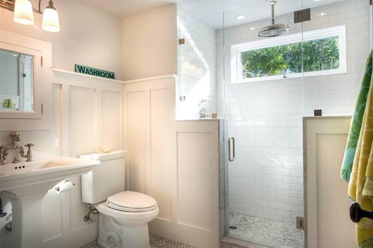 Board And Batten Bathroom Cottage Bathroom