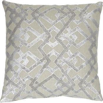 Lori Shinal Abstract Lattice Pillow I Barneys.com