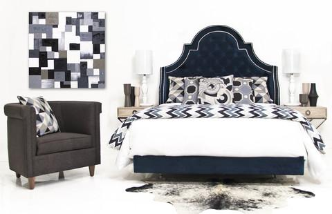 saveemail headboard navy blue houzz velvet tufted