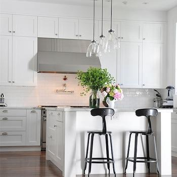 T Back Barstools, Contemporary, kitchen