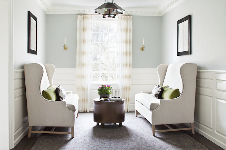 Wingback Settee Part 96