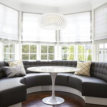 Bay Window Banquette, Contemporary, dining room, Strickland Mateljan