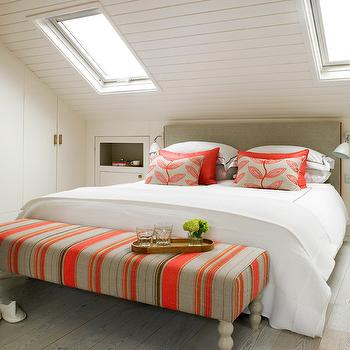 Amory Brown  Sloped Ceiling Bedroom