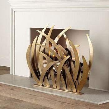 Arteriors Lydia Fireplace Screen I Horchow