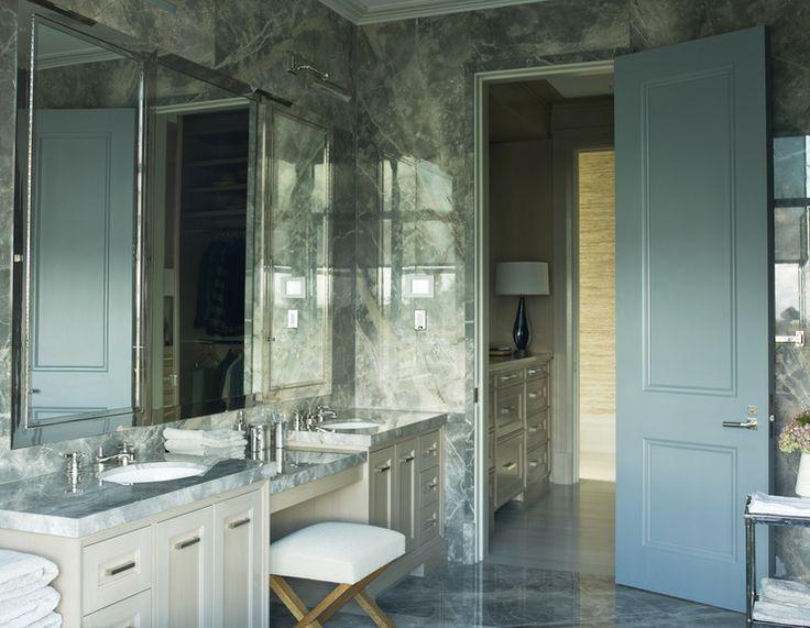 Polished Nickel Vanity Stool Design Ideas