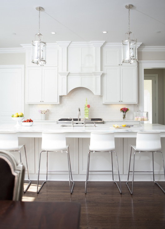 Arched Kitchen Hood Transitional Kitchen Tiffany