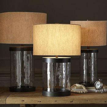 Murano Clear Glass Table Lamp Base Design Inspirations